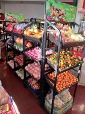 莱西水果货架